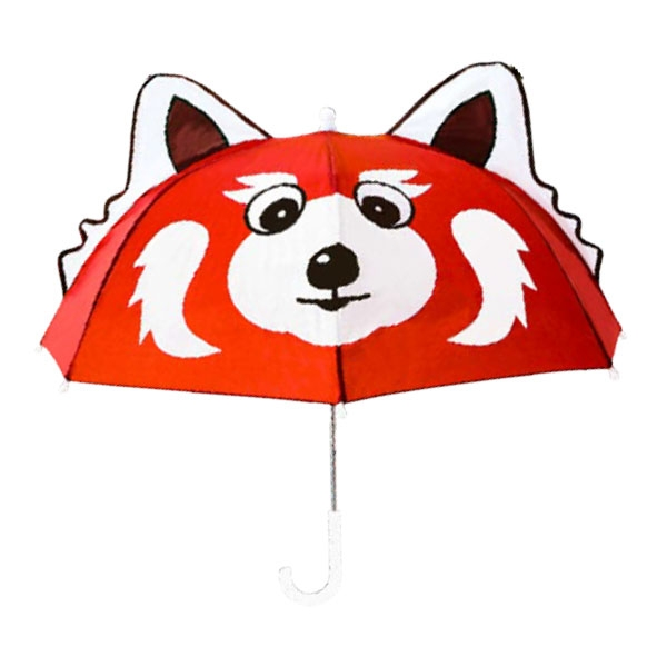 RED PANDA UMBRELLA W/ EARS