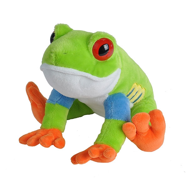 RED EYED TREE FROG PLUSH