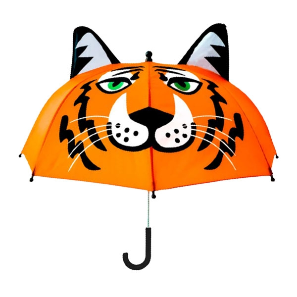 TIGER UMBRELLA W/EARS