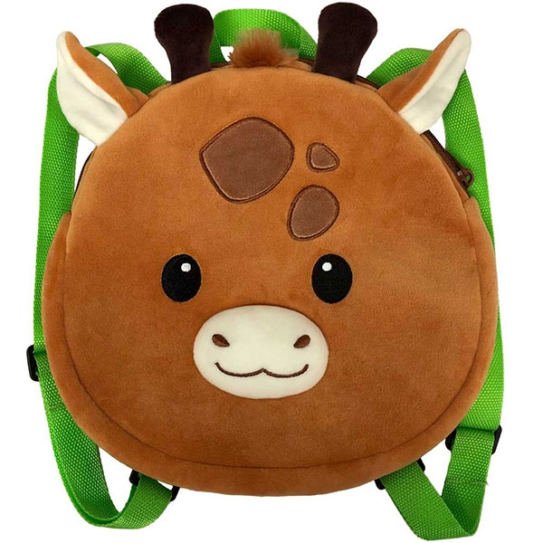 BACKPACK LIL HUGGY GIRAFFE