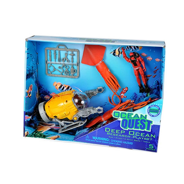 OCEAN QUEST MOVEABLE DEEP OCEAN PLAYSET