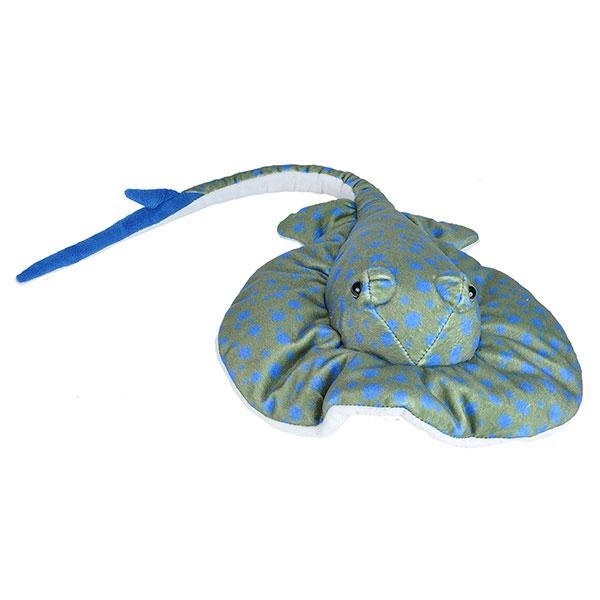 BLUE SPOT STINGRAY PLUSH