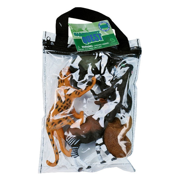 RAINFOREST QUEST ANIMAL POLYBAG