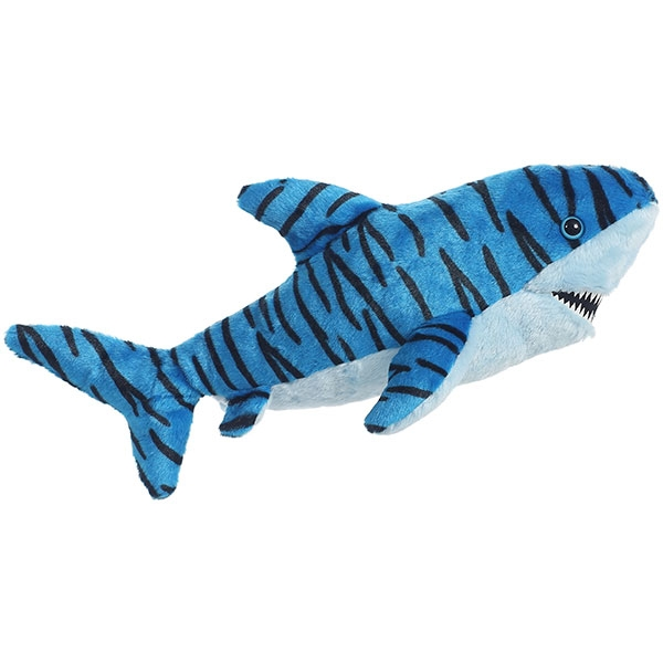 TIGER SHARK WITH BLUE ACCENTS PLUSH