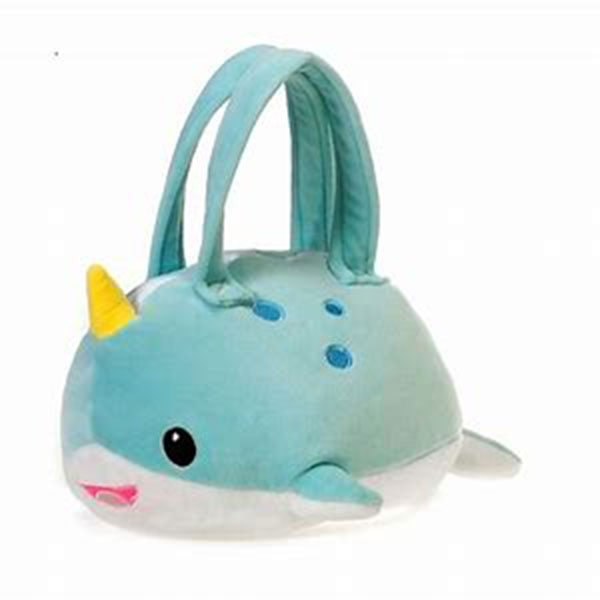 PURSE LIL HUGGY NARWHAL