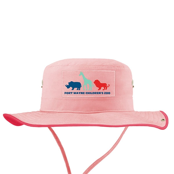 HAT YOUTH AUSSIE SILOUETTES PINK