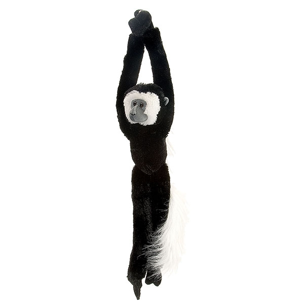 HANGING COLOBUS MONKEY PLUSH