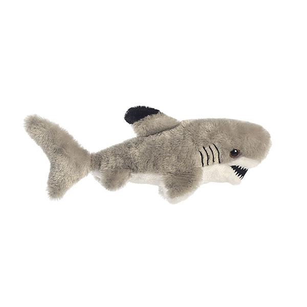 SHARK BLACK TIP MINI FLOPSIE PLUSH