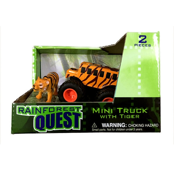 RAINFOREST QUEST TIGER MINI TRUCK