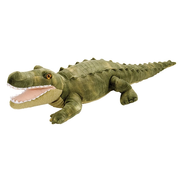 GREEN ALLIGATOR PLUSH
